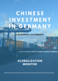 Chinese Investment in Germany. A Preliminary Investigation